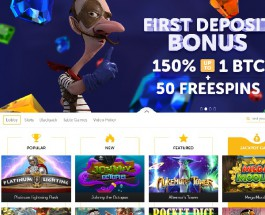 Bitcoin.com Casino Offers A Vast Amount of Choice