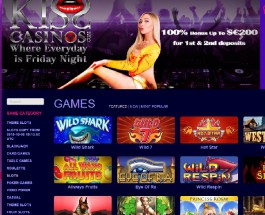 Kiss Casino Offers Nights Out Every Day