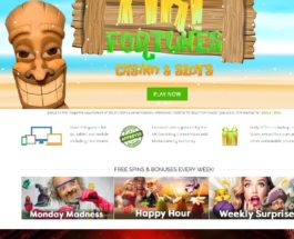 Tiki Fortunes Casino Takes Players Gambling in the Sun