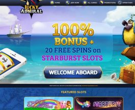 Lucky Admiral Casino Offers the Best of Mobile Slots