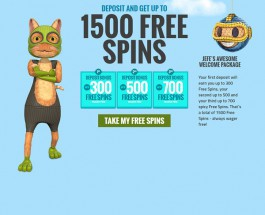 Casino JEFE Offers Feline Themed Online Gambling