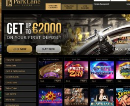 Park Lane Casino Offers Members Glamorous Online Gambling