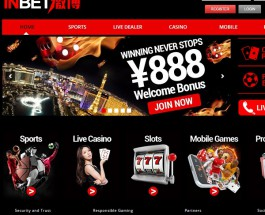 InBet88 Casino Brings Online Gambling to Asia