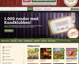 Casinostugan Offers Hundreds of Quality Online Games