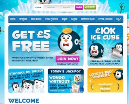 Frozen Bingo Offers Cute and Friendly Online Bingo