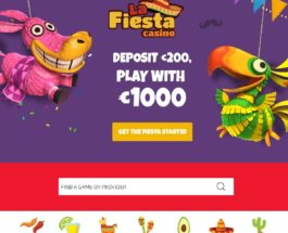 La Fiesta Casino Welcomes You to the Party
