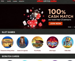 Casino Gates Offers Instant Play Mobile Gambling