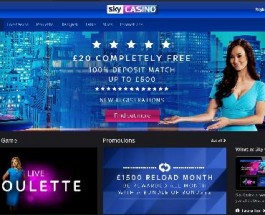 Sky Casino Now Accepting Players