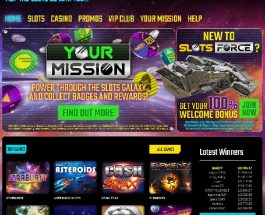 Slots Force Casino Combines Science Fiction with Gaming