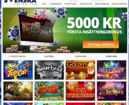 Svenska Casino Offer Swedes Top Quality Gaming