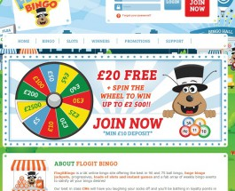 Flog It Bingo Offers Quality Bingo and Huge Bonuses