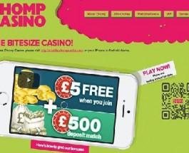 Chomp Mobile Casino Goes Live