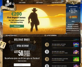 Wayne Casino Brings the Wild West to Online Gambling