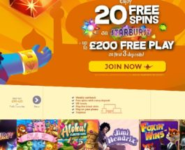 Aladdin Slots Casino Offers Gaming Wonders