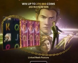 Fantasini: Master of Mystery Slot Features Linked Reels