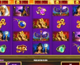 Golden Egypt Slots Features Free Spins with Wild Reels