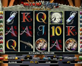Blood Lore Vampire Clan Slot Features Bloodcurdling Free Spins