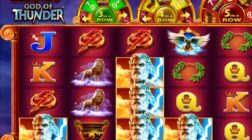 Zeus: God of Thunder Slot Offers Four Progressive Jackpots