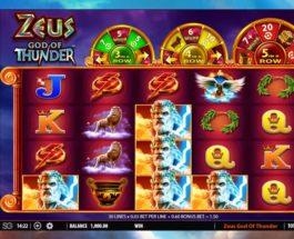 Zeus: God of Thunder Slot Offers Four Progressive Jackpots