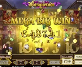 Royal Masquerade Slot from Play N Go Guarantees Free Spins Winnings