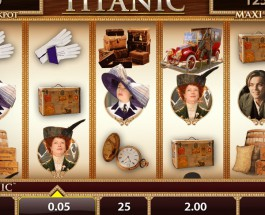 Titanic Slot Offers Masses of Bonus Features