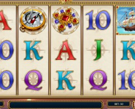 Sails of Gold Slot Takes You to Discover America