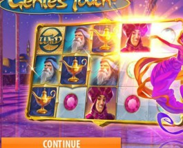 Genie's Touch Slot Features Arabian Treasures To Be Won
