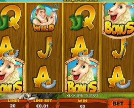 Spud O'Reilly's Slot Offers Sheep Shearing Bonuses