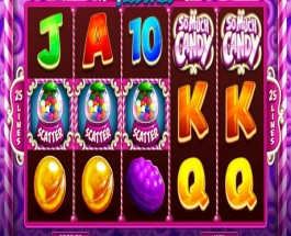 So Much Candy Slot Machine From Microgaming Offers Sweet Rewards