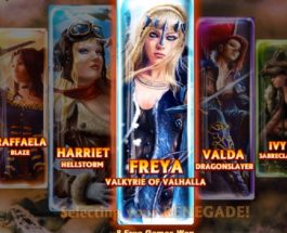 Renegades Slots Takes You On a Journey of Heroines