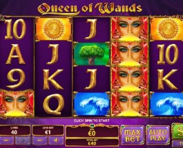 Queen of Wands Slot Offers Unlimited Free Spins