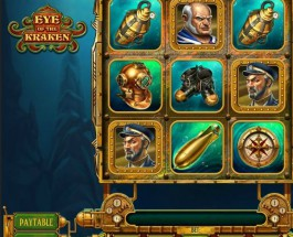 Eye of the Kraken Slot Brings Treasures from the Seabed