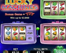 Lucky Machines Slot Features Five Sets of Reels