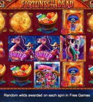 Fortunes of the Dead Slots Features Three Bonus Games