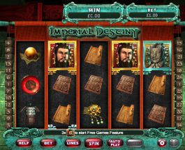 Imperial Destiny Slot Takes You to Ancient china