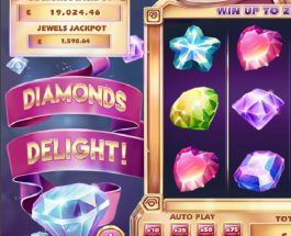 Diamonds Delight Slot Offers Sparkling Progressive Jackpots