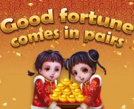 Lucky Twins Slot Brings You Oriental Good Fortune