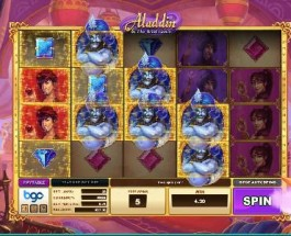 Aladdin Slot Released By Bgo Studios