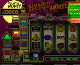 Haunted House Slot Offers Scarily Large Multipliers