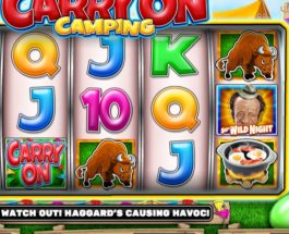 Carry On Camping Slot Offers Rollicking Fun