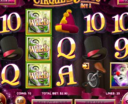 Cirque du Slots Offers Three Acts of Bonuses