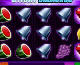 Sticky Diamonds Slot Offers Frozen Wilds and Free spins