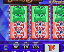 Candy Bars Slot Offers Three Progressive Jackpots