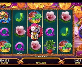 Lucky Tree Slot Features Four Wild Symbols