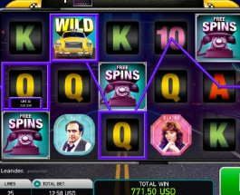 Taxi Slot Offers Multiple Bonus Games