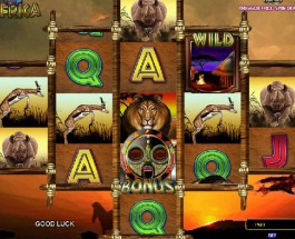 Legends of Africa Slot Offers a Wild Payout Structure