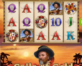 Sails of Gold Slot Provides a New World Adventure