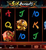 Six Acrobats Slot Takes You to a Chinese Circus