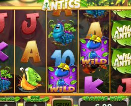 Join The Garden Creatures Playing Wild Antics Slot