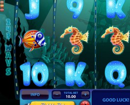 Sea of Gold Slot Offers Masses of Free Spins